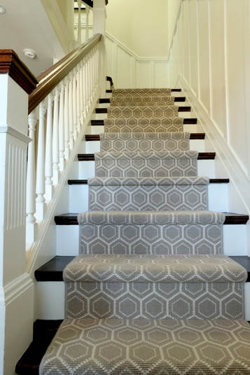 Designing A Life Blog The Design Source Ltd   Antelope Carpet On Stairs   Stark   Patterned   Helios   Farmhouse   Foyer