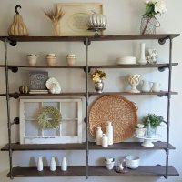 DIY industrial pipe shelves | Step by step tutorial on ...