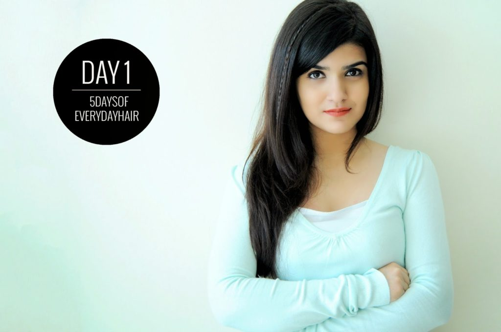 5 Days Of Everyday Hair Day 1 The Desi Wonder Woman