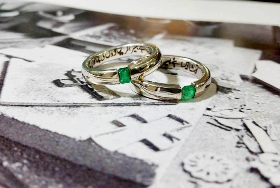 Kick-Butt Buy Of The Week: Urdu-Script Engraved Emerald Band From ...