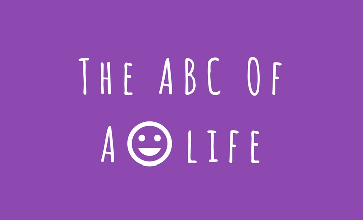 ABC of A Happy Life