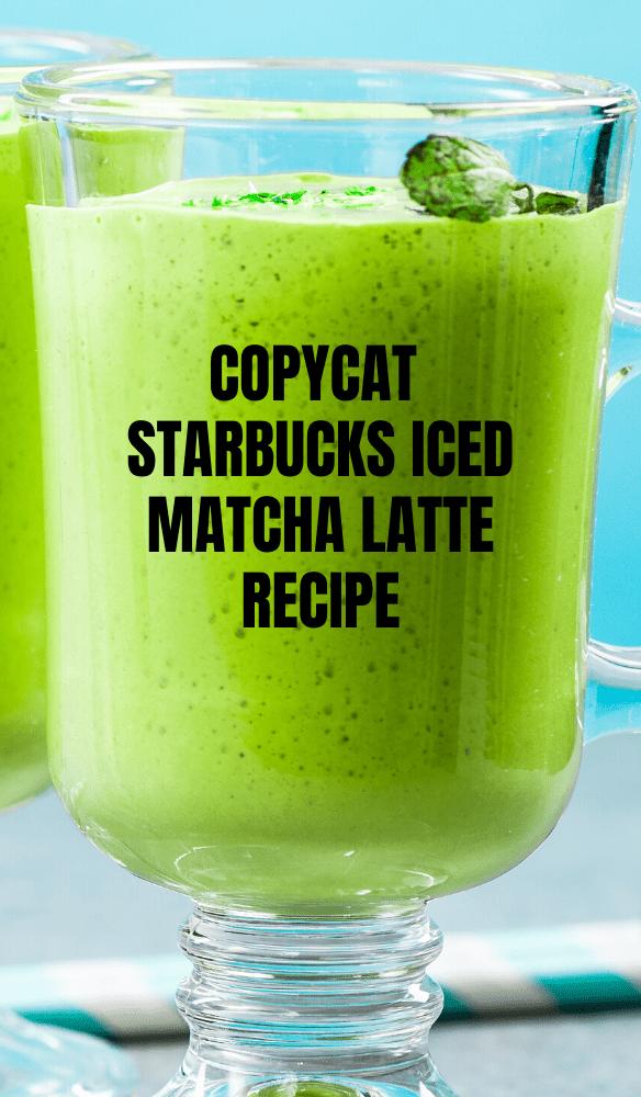 Healthy DIY Homemade Starbucks Drinks Recipes