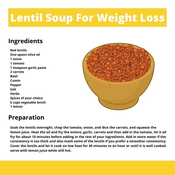 lentil soup recipe for weight loss