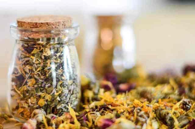 bath tea recipes