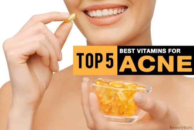 5 Best Vitamins To Prevent Acne & How To Get Them Naturally