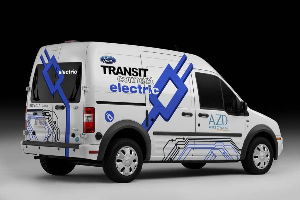 The Battery Electric Version Of The Ford Transit Connect Will Have A