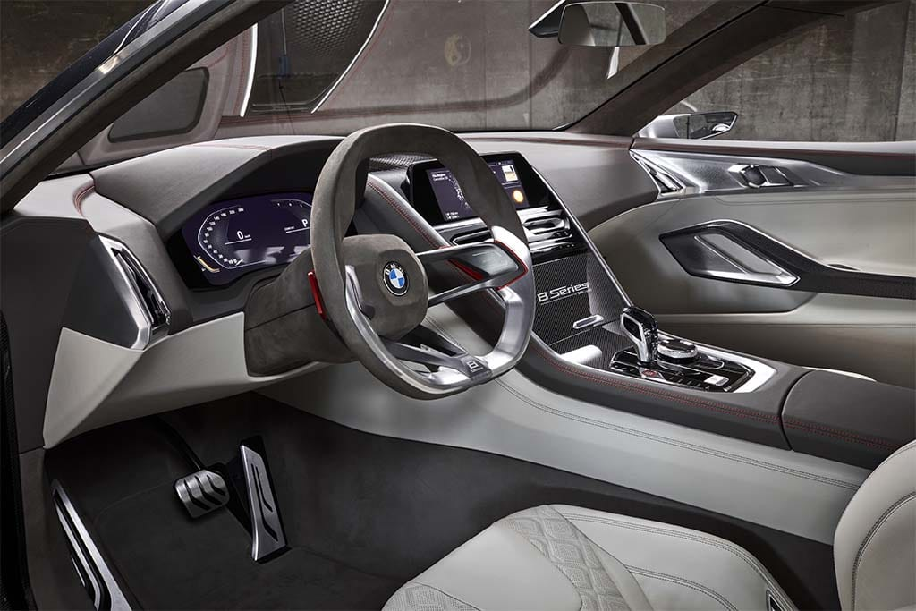Bmw 8 Series Interior