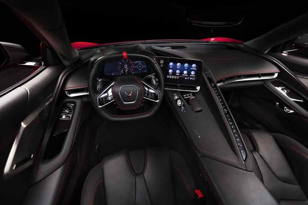 medium resolution of the c8 gets a much more sophisticated and driver oriented cockpit