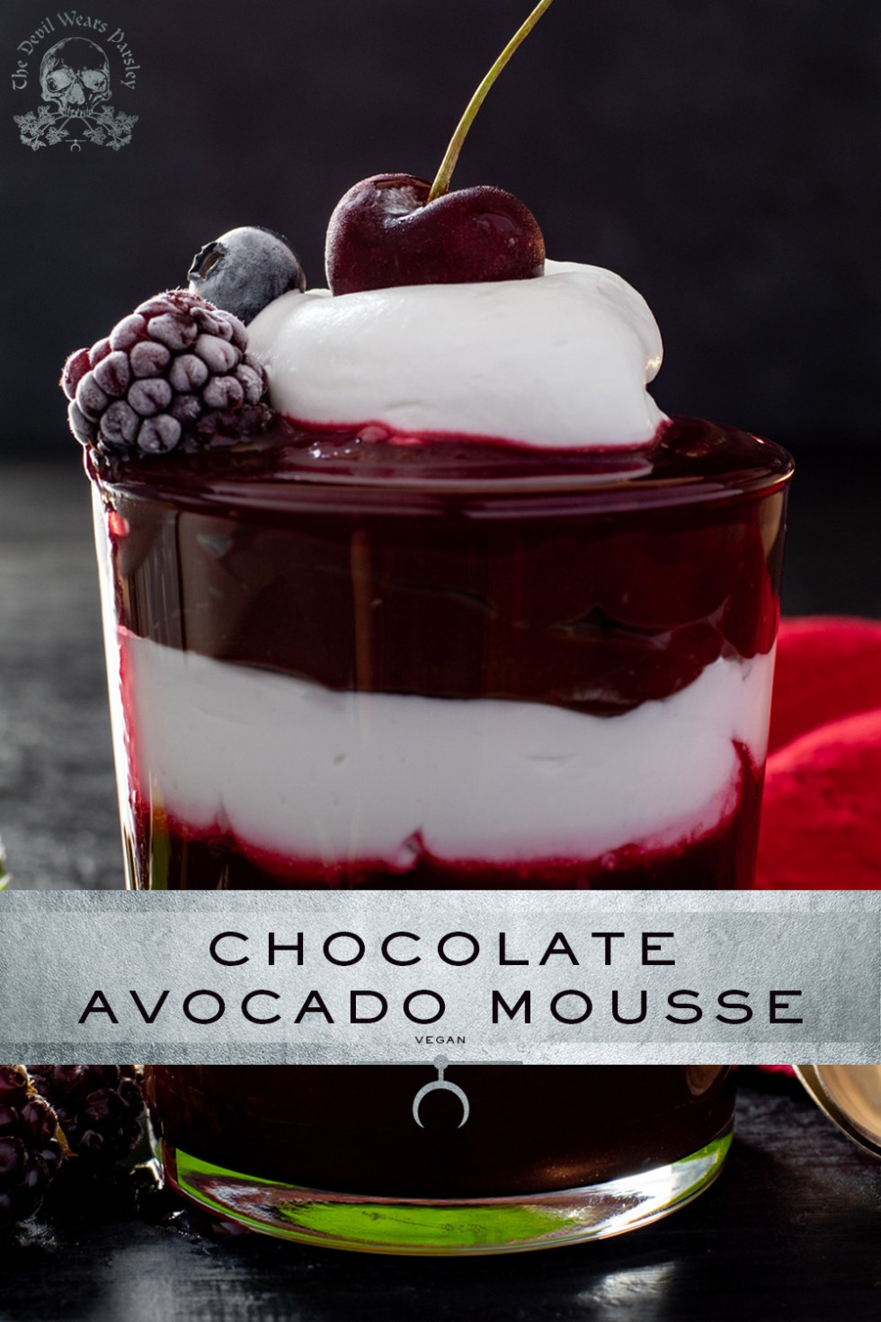 Who would have thunk that avocados could make the most luscious, and believeable chocolate avocado mousse? It doesn't get sexier than this!