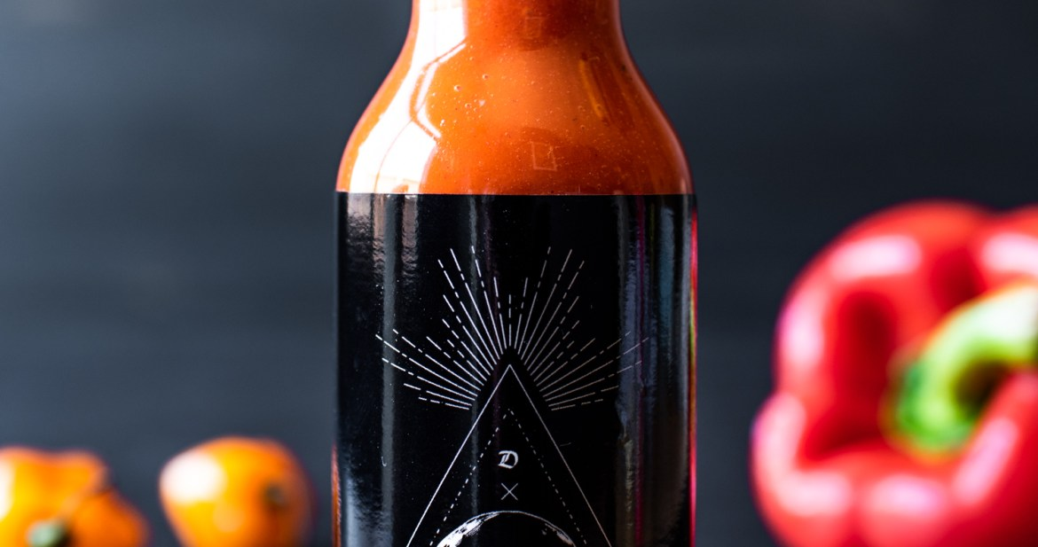 Red Macabre Hot Sauce