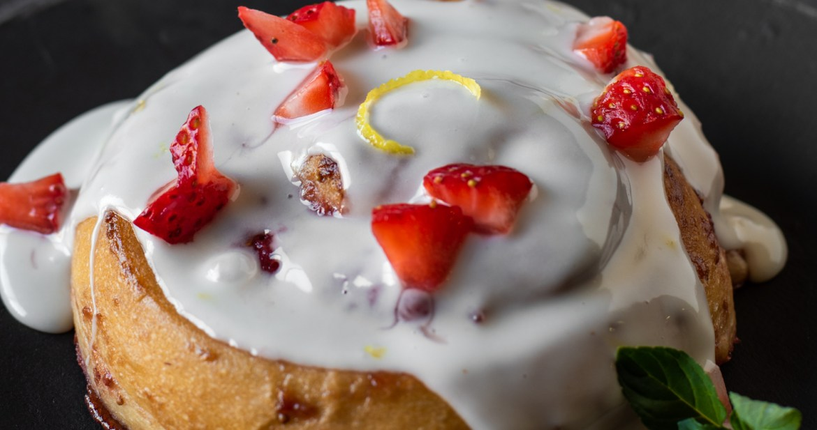 Sweet Strawberry Rolls