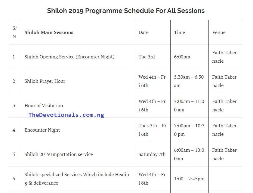 shiloh 2019