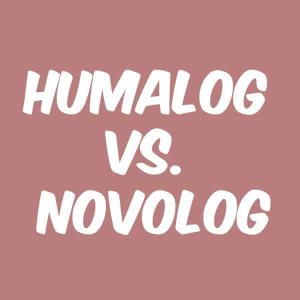 The two leaders in the fast acting insulin market Humalog ...