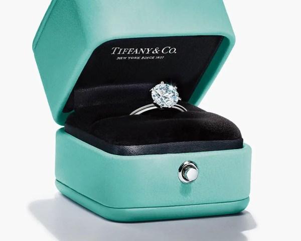 Tiffany Diamond Solitaire Rings