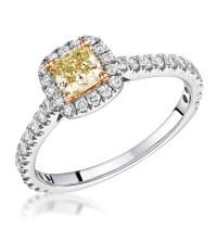 White Gold Diamond Engagement Rings