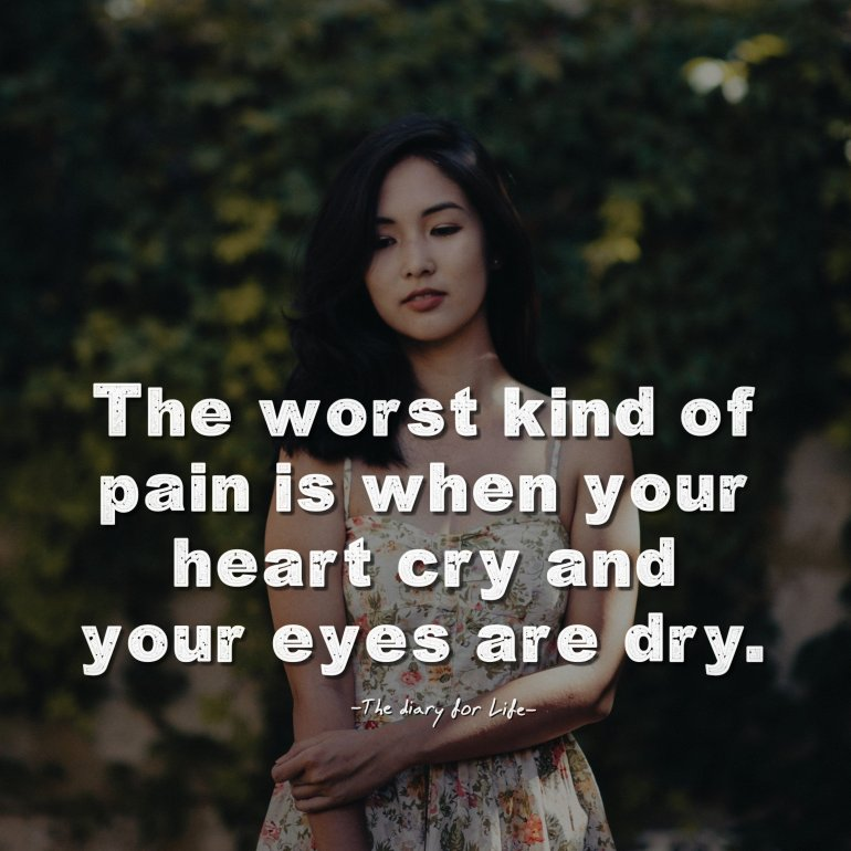 24 Sad Quotes About Life And Pain Thediaryforlife