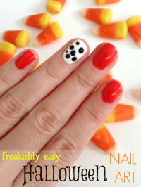 Simple Halloween Nail Art Design by Diary of a Debutante
