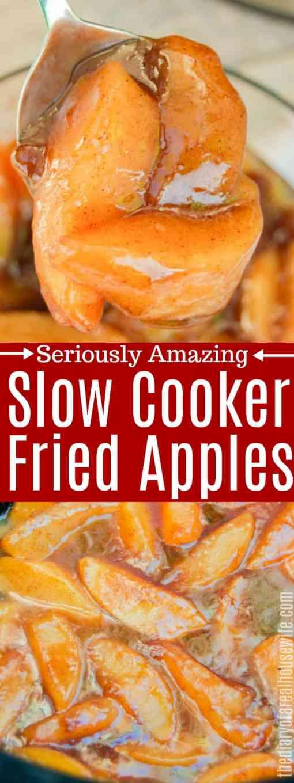 Slow Cooker Fried Apples