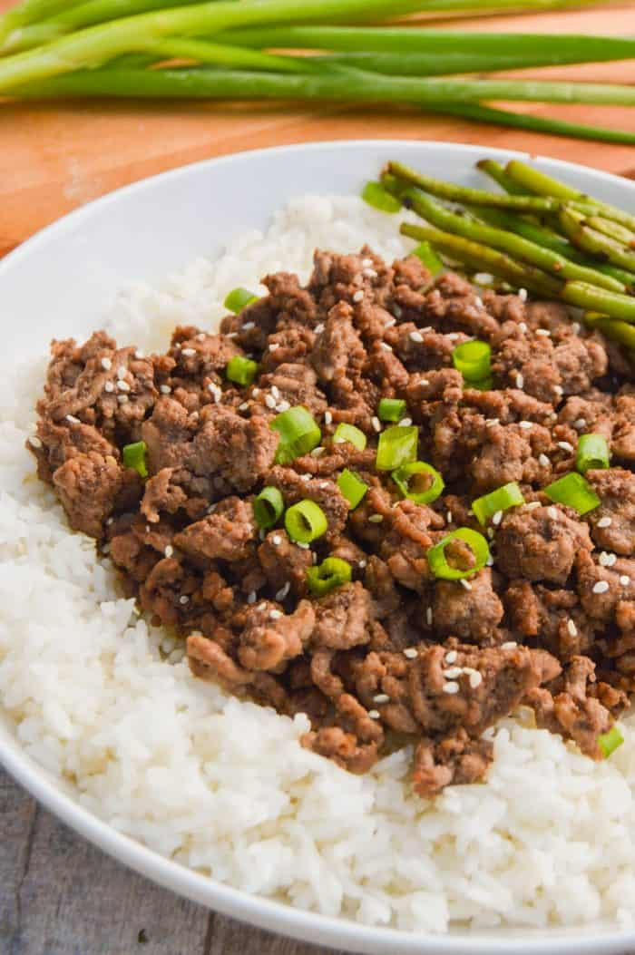 Asian Ground Beef • The Diary of a Real Housewife