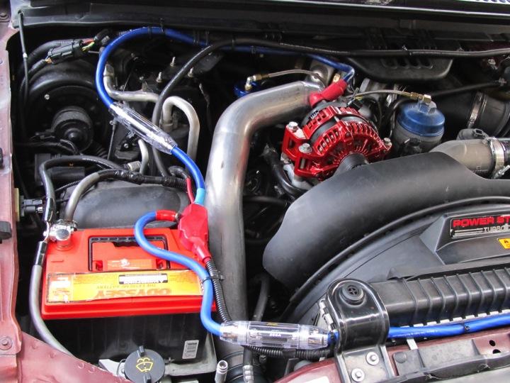 Ford 2 0l Engine Diagram Dc Power 185a Oem Alternator Issues Diesel Forum