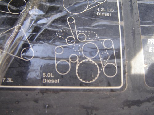 small resolution of serpentine belt diagram diesel forum thedieselstop com 6 0 serpentine belt diagram serpentine belt diagram 6 0