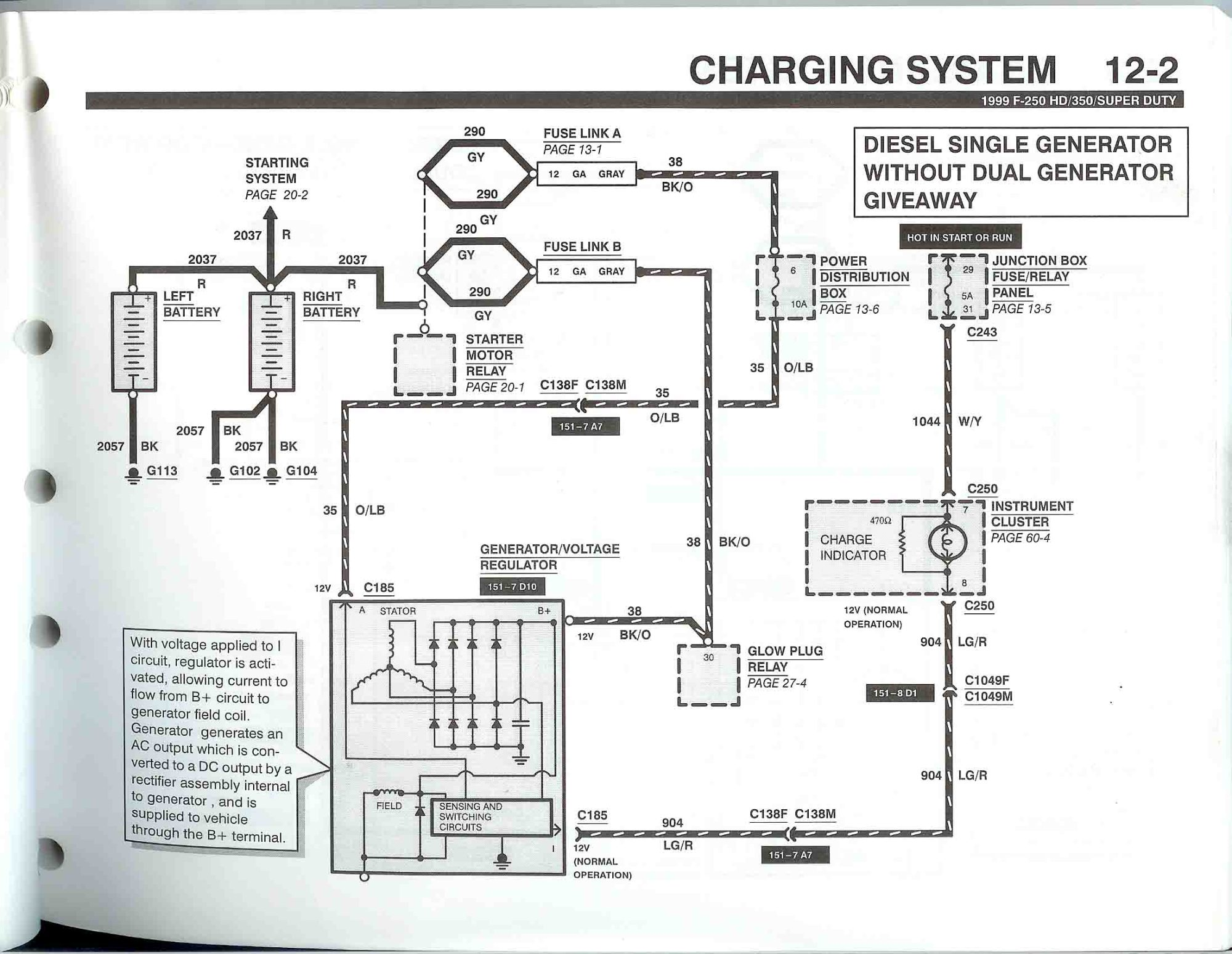 hight resolution of 2005 ford f350 alternator wiring diagram data wiring schema rh site de joueurs com