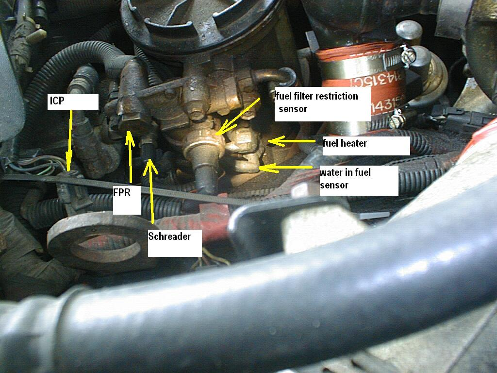 7 3 powerstroke glow plug relay wiring diagram solar panel battery help, fuse 22 blowing w/ heater unplugged - diesel forum thedieselstop.com