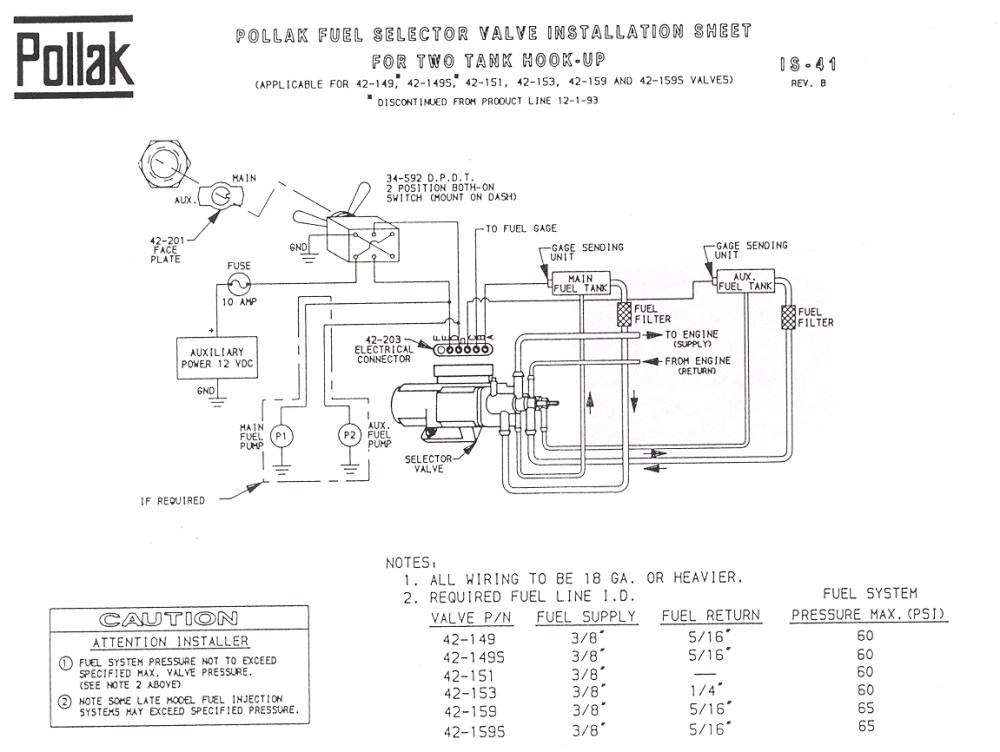medium resolution of ford fuel tank selector switch diagram wiring diagram data valtank selector valve where to