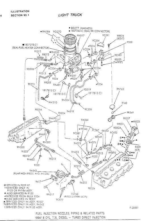 small resolution of 1997 7 3 powerstroke fuel system diagram wiring diagram long 1996 7 3 fuel system diagram