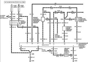 Wiring schematic for 90 E350 73 from TPS needed  Diesel