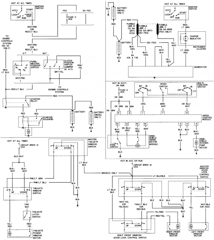 medium resolution of 92 ford f250 wiring diagram wiring diagram online aspire wiring diagram 92 f350 wiring diagram