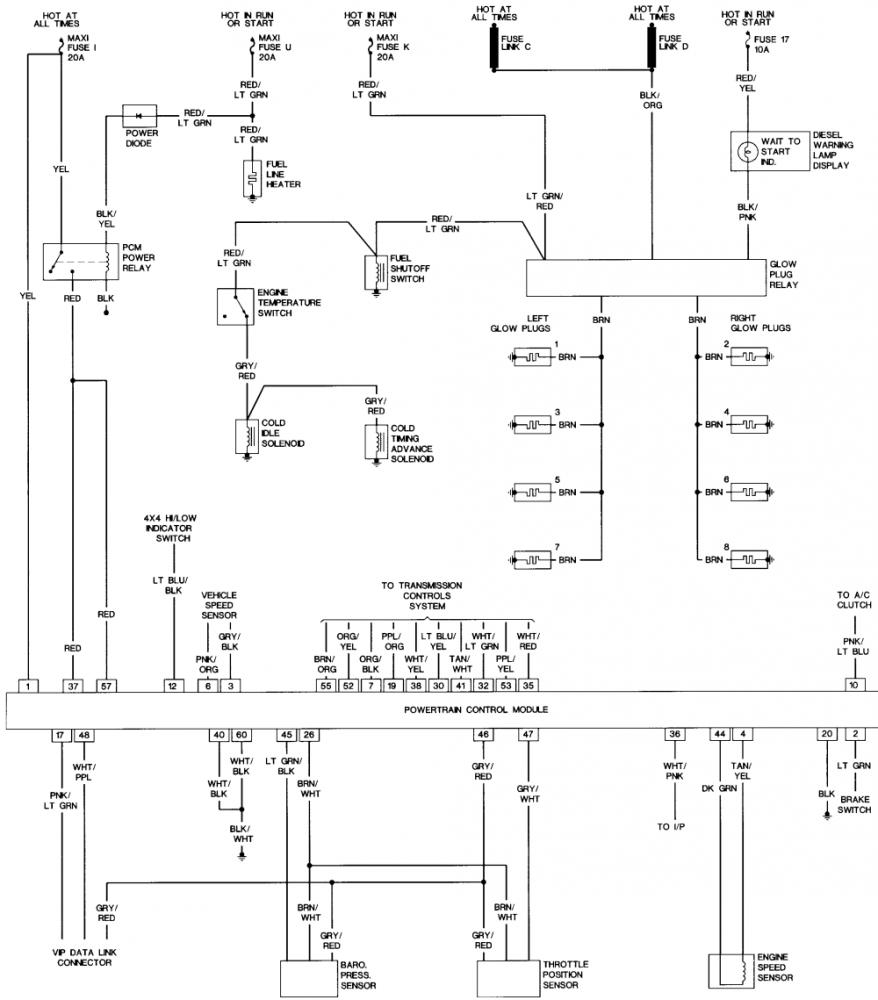 hight resolution of 7 3 idi engine wiring diagram schematic diagram database 1994 7 3 idi wiring diagram