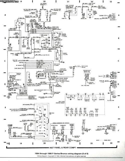small resolution of 85 bronco alternator wiring diagram wiring diagrams schematic1993 ford bronco alternator wiring best wiring library basic