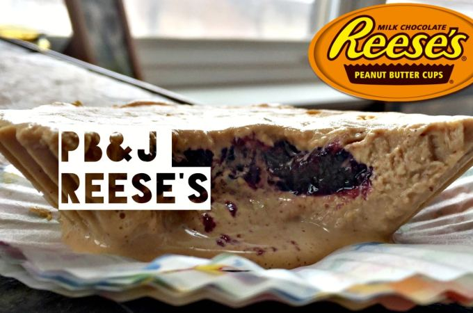 Healthy Peanut Butter and Jelly Reese's Cups