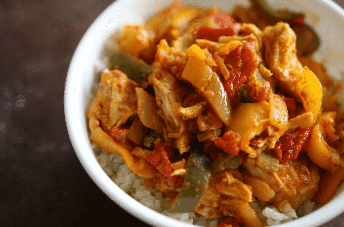 Easy Chicken Curry Recipe (Healthy, Low Carb)