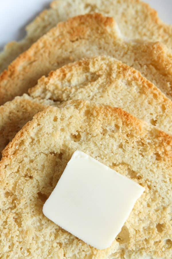 BEST Easy low Carb Keto Bread Recipe - ONLY 1 NET CARB - And made with Almond Flour!