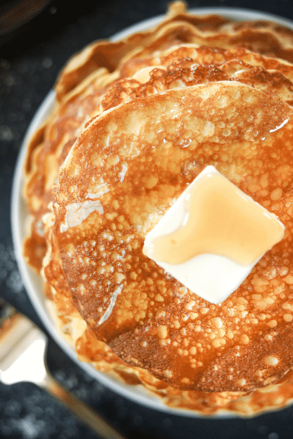 Keto Coconut Flour Cream Cheese Pancakes! Seriously, this is the BEST Low Carb Coconut Flour Pancake Recipe...and so EASY too.