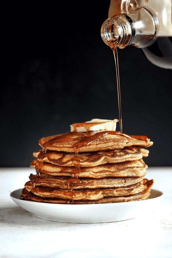 Keto Pancakes! Low Carb Almond Flour Pancake Recipe