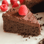 Keto Cake! Flourless, Low Carb, Gluten Free Chocolate Cake For Keto!