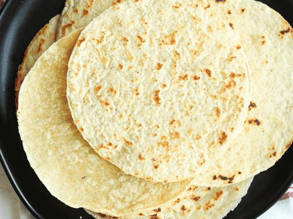 Keto Tortillas Using Almond Flour