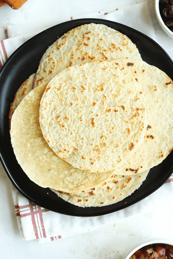 Keto Tortillas Using Almond Flour