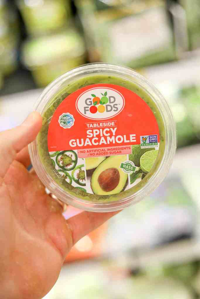 Good Foods Guac is one of the best keto dips you can buy at Target.