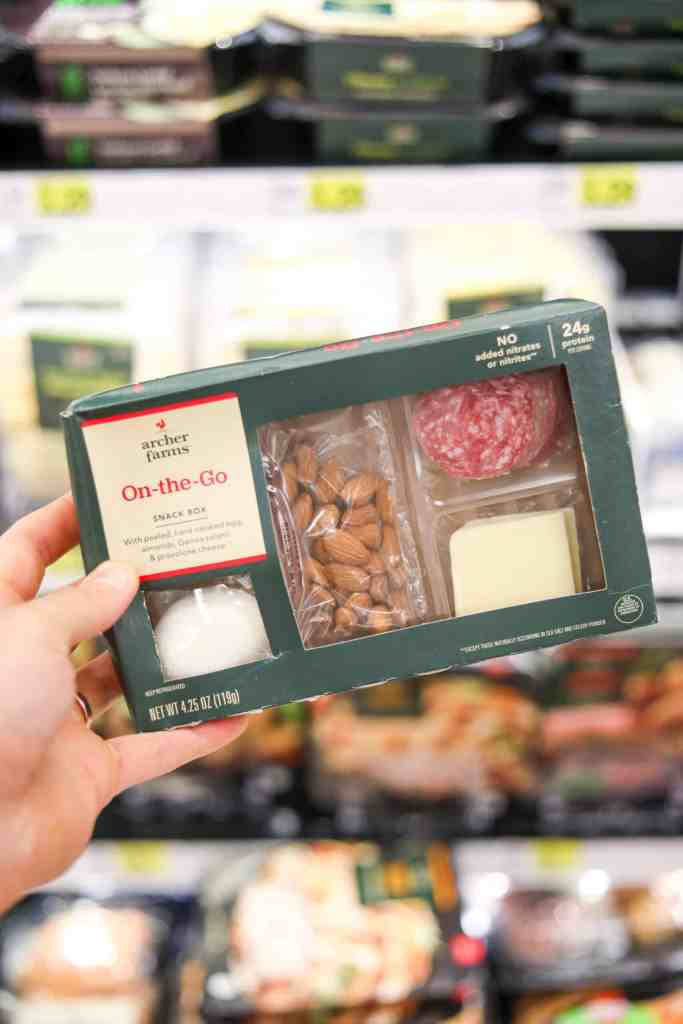 Keto Snack Ideas - The On The Go Low Carb Keto Snack Box at Target