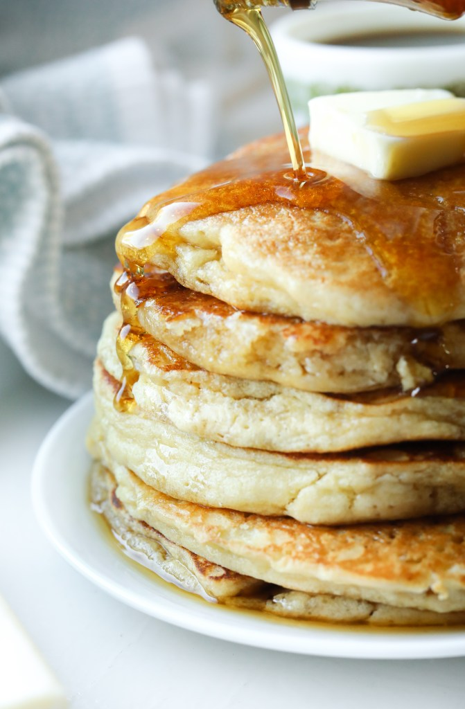 Fluffy Low Carb Keto Pancakes