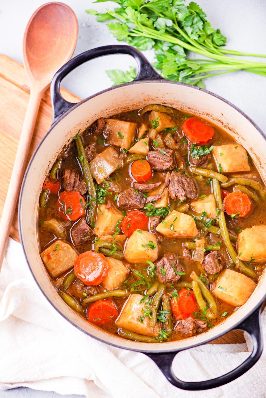 best vegetables for keto diet beef stew