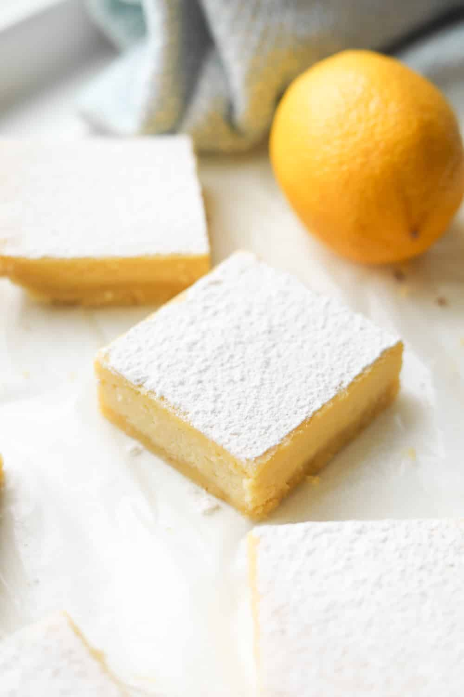 keto diet lemon bars