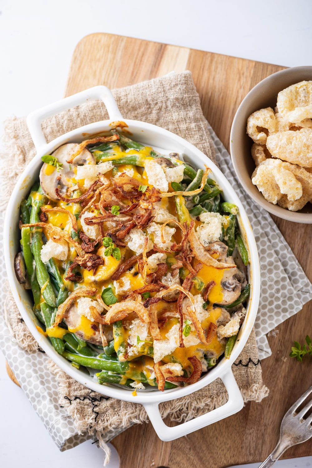 Keto Green Bean Casserole | One Of The BEST Low Carb Keto Casserole Recipes