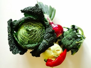 eat foods high in fiber