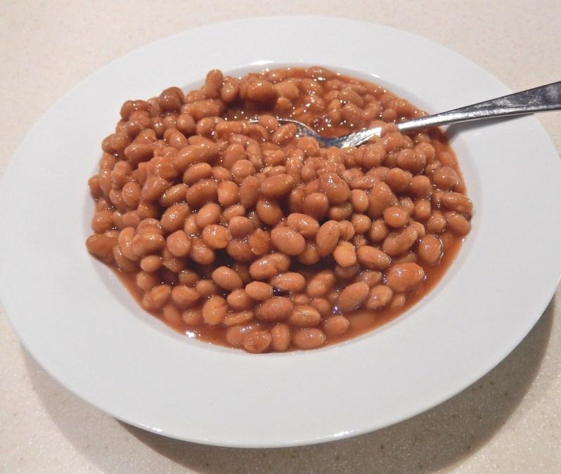 baked beans veggies