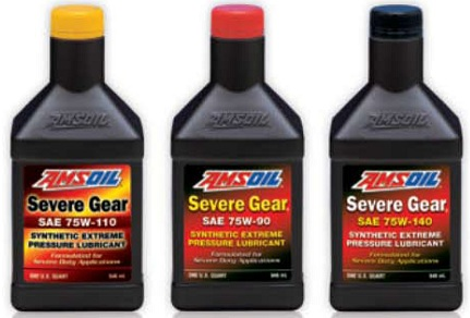 Amsoil Severe Gear 75w 90 >> Amsoil Severe Gear Gear Lube The Differential Fluid